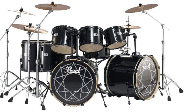 Joey Jordison drum kit